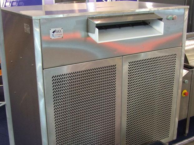 Льдогенератор с холодильным агрегатом